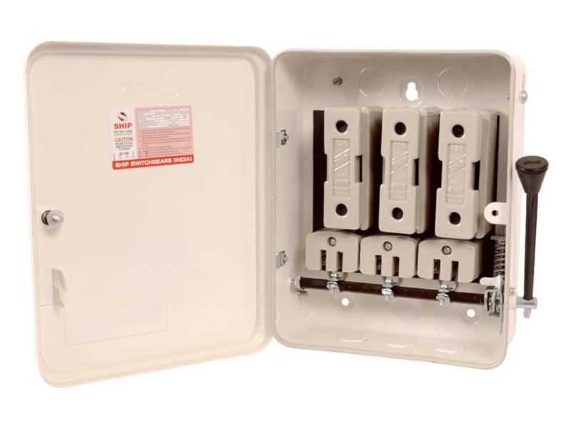 rewirable switch fuse unit isolator ship switchgears india